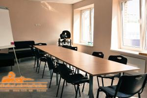 Seminar room at the Tactical Shooting Centre in Tallinn