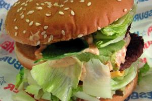 Hesburger hamburger