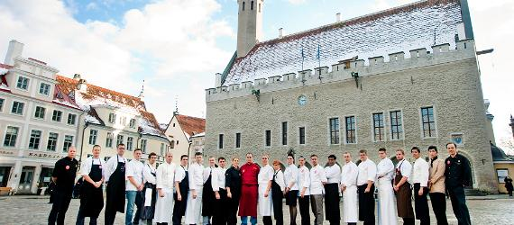 Tallinn chef competes at Bocuse d'Or