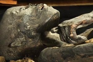 University of Tartu Art Museum: human mummy