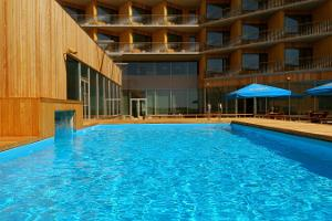 Pools and saunas at Georg Ots Spa Hotel