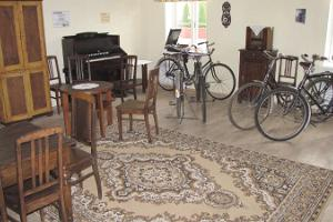 Uus Saal (seminar room) of the Estonian Bicycle Museum
