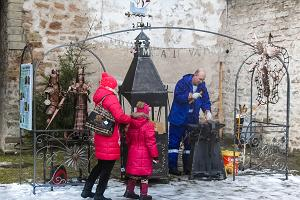 Wintermarkt in Narva