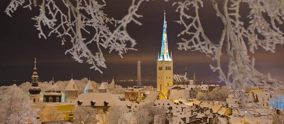 Christmas holiday in Tallinn