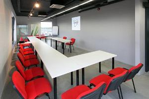 seminar room on the first floor