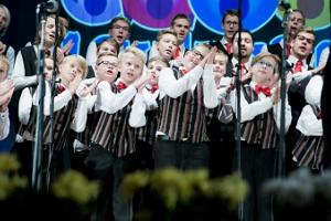 "International competition festival for pop/jazz choirs ""Lauluragin"""
