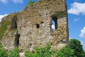 Ruins of the Stronghold of the Livonian Order in Vasknarva