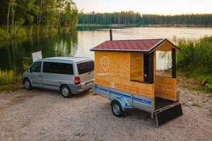 Saunatrip – trailer sauna rental and transport all over Estonia