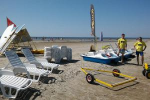 Pedalo rental by Pärnu Surf Center in Pärnu