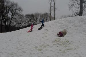 Sledding hill at Tähtvere Park