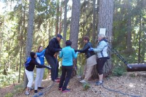 "Adventure hike ""Treasure hunt"" in the Elva recreational area"