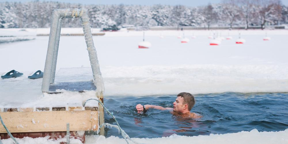 Winter swimming – the Estonian vitamin