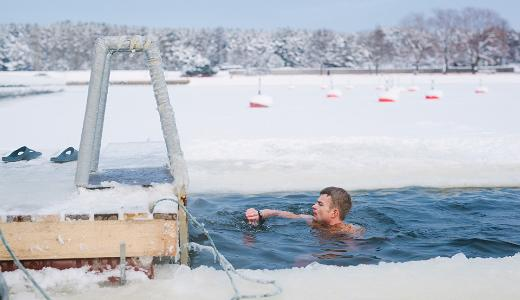 Winter swimming - the Estonian vitamin