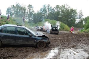 Banger racing – something absolutely crazy, but completely safe!