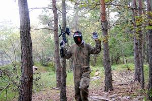 Paintball in Tallinn, at a former Russian military unit