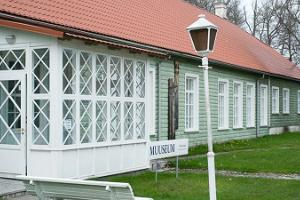 Gift shop of Hiiumaa Museum