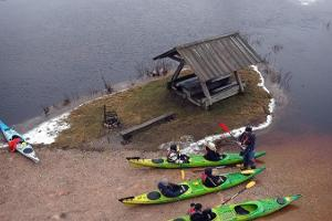 Seikle Vabaks fifth season kayaking trip in Soomaa National Park