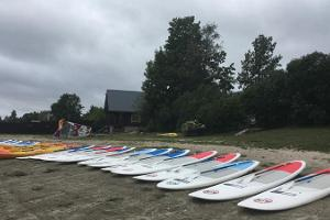 Aloha Surf Centre, SUP yoga for bachelors