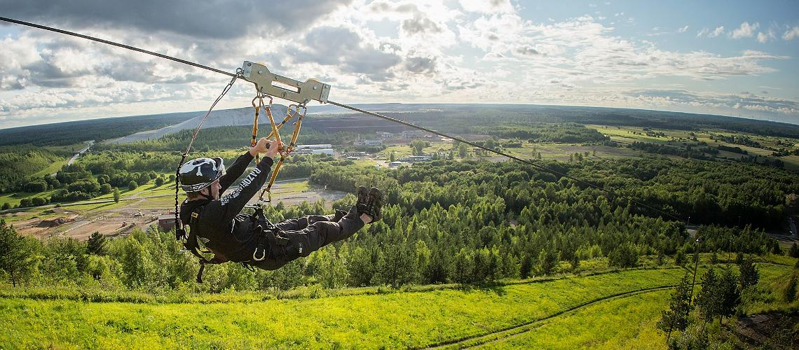 Adventure holiday in East Estonia
