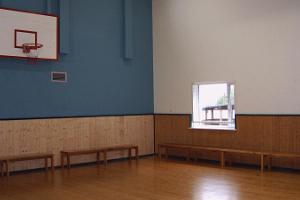 Recreation hall (indoor basketball and table tennis) at Jõulumäe Recreational Sports Centre