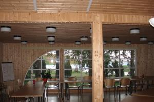 Breakfast hall at Paatsalu Holiday Centre