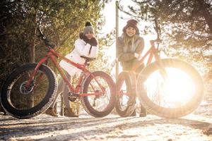 FATBIKE tour to the beach dunes in Pärnu