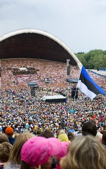 "The 12th Estonian Youth Song and Dance Celebration ""Here I'll Stay"""