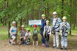 K-Park adventure park in Kuressaare