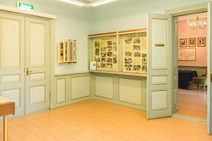 Luua Manor museum rooms