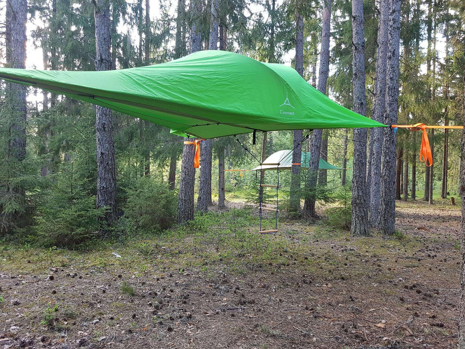 accommodation in tentsile tent & Tentsile tent - accommodation between the land and the sky Estonia