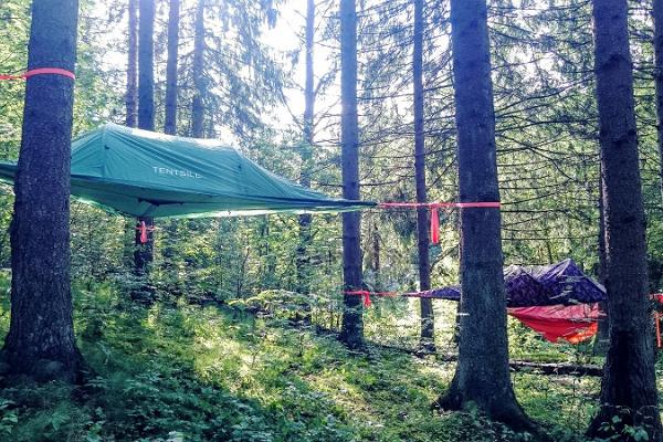 Tentsile tent - accommodation between the land and the sky