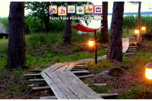 Torni Talu Cottages, sea-side barbecue and camping site
