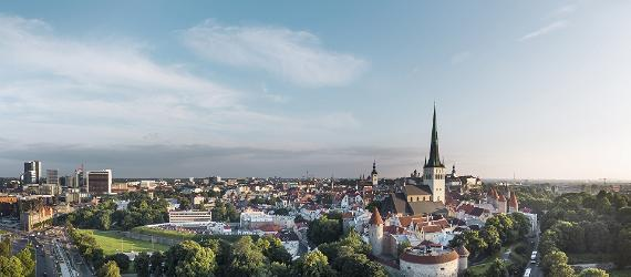Best places to enjoy views of Tallinn