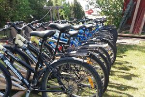 Bike Rental at the Sviby Port on the Island of Vormsi