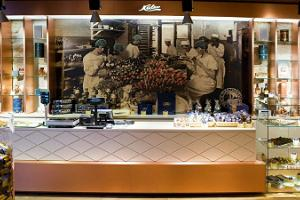 Kalev Chocolate Shop in the Rotermann Quarter