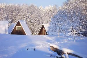 Annimatsi camping grounds - winter