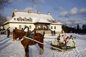 Riding at the Laagna hotel