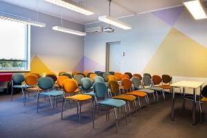 Seminar room at Art Hotel Pallas
