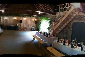 Party barn.