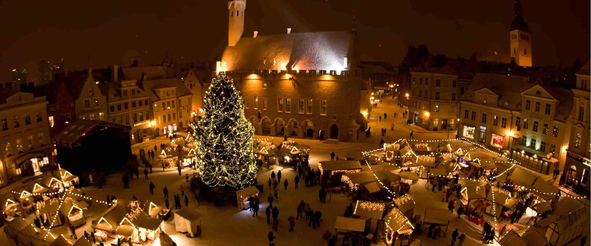 The Tale Of Tallinns Most Famous Christmas Tree