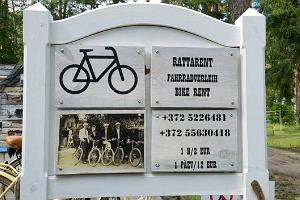 Bicycle rental at Lahemaa National Park