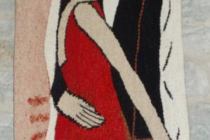 """Couple"", tapestry"