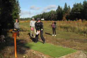 Paliveres disku golfs