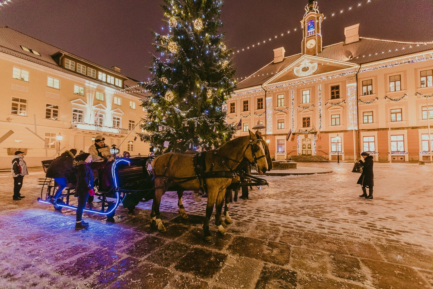 Christmas City.Christmas City Tartu Estonia