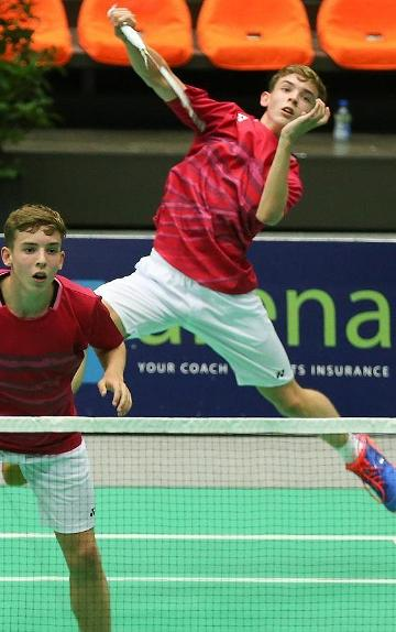 European Junior Championships in badminton