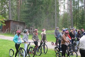 Guided scooter hike in Taevaskoda