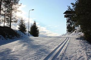 Lähte ski trails