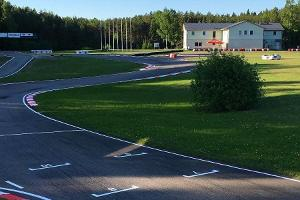 Aravete Kart Track in middle Estonia