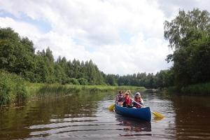 Canoe hikes in Soomaa National Park by Seikle Vabaks