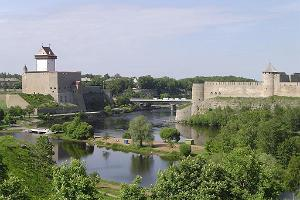 Narva Castle and Ivangorod Fortress
